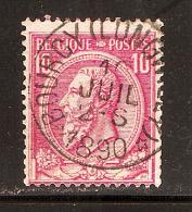 RO@: Nr 46 Met STERstempel ´ *BOURCY(LONGWILLY)* ´  (c141) - 1884-1891 Leopold II