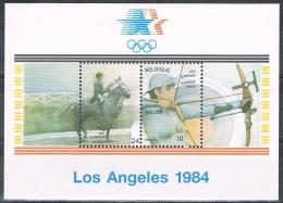 Année 1984  -  COB BL60**  (2121 à 2122)  -  JO De 1984 à Los Angeles-  Cote  2,25€ - Blocks & Sheetlets 1962-....