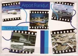 Airport Frankfurt , Terminal 2 , Mehrbildkarte - Aerodrome