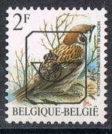 Année 1986 à 1996  -  COB PRE818P6a**  -  Oiseaux  -  Moineau Friquet  -   Cote  0,30€ - Typo Precancels 1986-..(Birds)