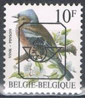 Année 1986 à 1996  -  COB PRE834P6a**   -  Oiseaux  -  Pinson  -   Cote  0,70€ - Typo Precancels 1986-..(Birds)