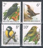 Année 1992  -  COB 2458 à 2461**  -  Oiseaux  -  Cote  2,05€ - Unused Stamps