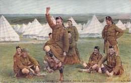 WW1 - En Guerre, Entre Deux Assauts (écosse) - Guerra 1914-18