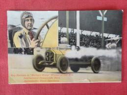 Ray Harroun Marmon  Wasp Winner 500 Mile Race  1915 Cancel  Small Tear Bottom Center  Ref 1321 - Postkaarten