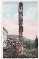Kicksetti Totem (Indian) & Sun House , WRANGELL , Alaska , 00-10s - Non Classificati