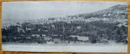 14 : Panorama D'Houlgate à Beuzeval - Vue Prise De La Villa Foucher De Careil - Carte Panoramique Double - (n°1830) - Houlgate