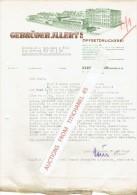 Brief 1948 - KLEIN-AUHEIM - GEBRÜDER JLLERT - Offsetdruckerei - Imprimerie & Papeterie