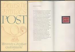 """Bund: Minister Card - Ministerkarte Typ I, Michel-Nr. 227: """" Heinrich Von Stephan """" , Postfrisch, Rarität !! - Covers & Documents"""