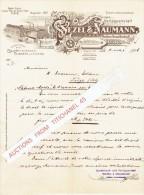Brief 1906 - LEIPZIG - WEZEL & NAUMANN - Kunsanstalt Für Chromolithographie - Spielkarten - Spleelkaart- Affiche - Imprimerie & Papeterie