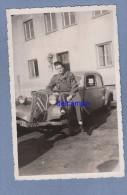 CPA Photo - BERLIN - Militaire Sur CITROEN TRACTION - 1947 - Superbe - TOA - Non Classificati