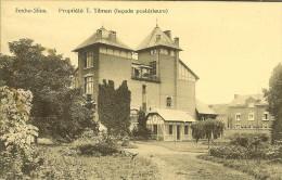 """CP De FEXHE-SLINS """" Propriété T.TILMAN ( Façade Postérieure ) """" . - Juprelle"""