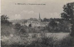 Brie Vue Prise De La Route De Janze - France