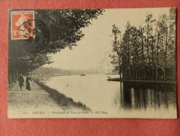 Dep 77 , Cpa MELUN , 139 , Promenade De Vaux Le Pénil , ND Phot (A41) Recto/Verso - Melun
