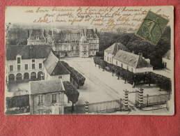 Dep 77 , Cpa MELUN , 832 , La Préfecture (A45) Recto/Verso - Melun