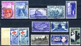 1951 - Italia - Italy - Sass. Nr. 653/681 -   Used (o) - (PG15052014...) - Italia