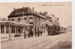 Knokke - Station Du Tram, Stoomtram - Knokke