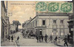Eure Et Loir - Maintenon - Entrée De La Rue Du Pont-Rouge - Maintenon