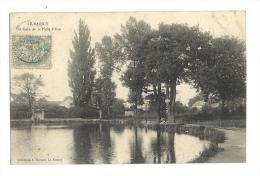 Cp, 93, Le Raincy, Un Coin De La Pièce D'Eau, Voyagée - Le Raincy