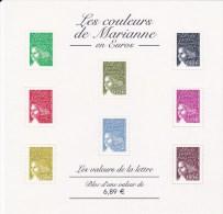 2004 - Feuillet N°67 Neuf**- Les Couleurs De Marianne En Euros-Les Valeurs De La Lettre - Mint/Hinged