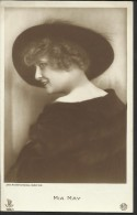 "Alte Ansichtskarte  ""Mia May""  (1884 - 1980)  Stummfilmschauspielerin - Artiesten"