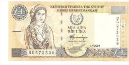 CHYPRE 1 Pound 2004 UNC - Chypre
