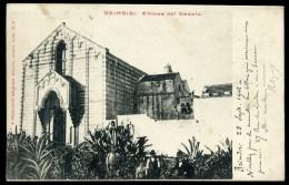 BRINDISI - Chiesa Del Casale - Animata - Viaggiata 1902 - Brindisi