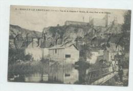 Mailly-le-Chateau (89) : La Chapelle Saint-Nicolas Prise De La Passerelle Du Vieux Pont En 1910 (animé)  PF. - Autres Communes