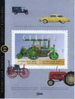 CANADA 1993-1996 OFFICIAL 25 STAMP PANE CAT VALUE CDA $10. - Blocks & Kleinbögen