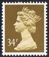 Machin SGX985 1984 Machin 34p Unmounted Mint - 1952-.... (Elizabeth II)