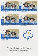 Australia 2010 Centenary Of Girl Guides $7.50 Sheetlet MNH - Australie