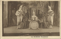 Erquelinnes - Les TO-BE-RO - Trio De Clowns Musiciens ( Voir Verso ) - Erquelinnes