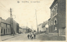 Grand-Reng - Rue Joseph Wauters - Groupe D'enfants  ( Voir Verso ) - Erquelinnes
