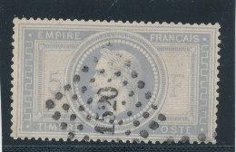 N°33 GRIS BLEU LOSANGE PETITS CHIFFRES  A VOIR!!!!!!!!!!!! - 1863-1870 Napoleon III Gelauwerd