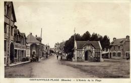 COUTAINVILLE   L´entrée De La Plage - France