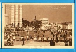 CP, 75, Exposition Internationale PARIS 1937, Vue Générale, Vierge - Ausstellungen