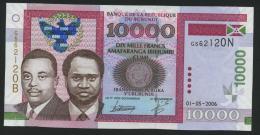 Burundi 10000 Francs 2006 Pick 43 UNC - Burundi