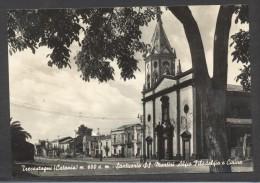 7369-TRECASTAGNI(CATANIA)-SANTUARIO SS. MARTIRI ALFIO FILADELFIO E CIRINO-FG - Catania