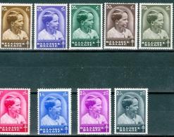N° 438-446  X - 1936 - Neufs