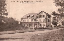 63 LA BOURBOULE CHARLANNES HOTEL DU FUNICULAIRE - La Bourboule