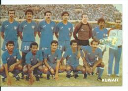 """"""" KUWAIT """".- EQUIPO DE FUTBOL - TEAM - EQUIPE - SQUADRA - MUNDIAL ESPAÑA - 82. - Fútbol"""