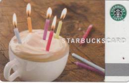 CANADA - Happy Birthday, Starbucks Card, CN : 6062, Unused - Gift Cards