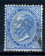 1877 - Regno - Italia - Italy  - Sass. Nr. 27 -   Used (o) - (PG15052014...) - 1861-78 Vittorio Emanuele II