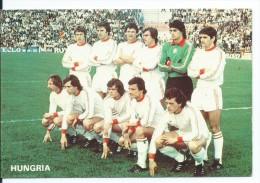 """"""" HUNGRIA """".- EQUIPO DE FUTBOL - TEAM - EQUIPE - SQUADRA - MUNDIAL ESPAÑA - 82. - Fútbol"""