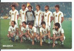 """"""" BELGICA """".- EQUIPO DE FUTBOL - TEAM - EQUIPE - SQUADRA - MUNDIAL ESPAÑA - 82. - Fútbol"""