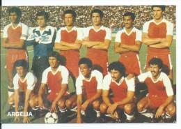 """"""" ARGELIA """".- EQUIPO DE FUTBOL - TEAM - EQUIPE - SQUADRA - MUNDIAL ESPAÑA - 82. - Fútbol"""