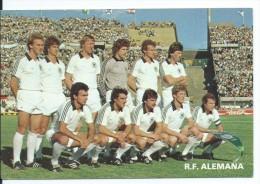 """"""" ALEMANIA """".- EQUIPO DE FUTBOL - TEAM - EQUIPE - SQUADRA - MUNDIAL ESPAÑA - 82. - Fútbol"""