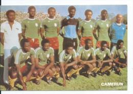 """"""" CAMERUN """".- EQUIPO DE FUTBOL - TEAM - EQUIPE - SQUADRA - MUNDIAL ESPAÑA - 82. - Fútbol"""