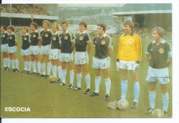 """ ESCOCIA "".- EQUIPO DE FUTBOL - TEAM - EQUIPE - SQUADRA - MUNDIAL ESPAÑA - 82. - Fútbol"