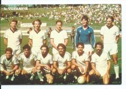 """ NUEVA ZELANDA "".- EQUIPO DE FUTBOL - TEAM - EQUIPE - SQUADRA - MUNDIAL ESPAÑA - 82. - Fútbol"