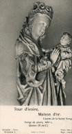 Vierge De Pierre,XIVe S Quéant(P.-de-C.) - Images Religieuses